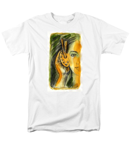 Art Of Listening Men's T-Shirt  (Regular Fit) by Leon Zernitsky