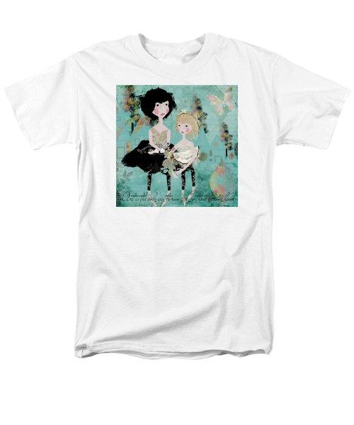 Artsy Girls Men's T-Shirt  (Regular Fit) by Diana Boyd