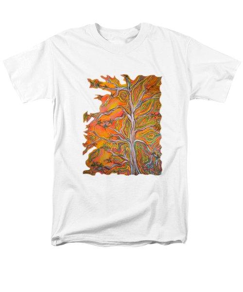 Nature's Energy Men's T-Shirt  (Regular Fit) by Deborha Kerr
