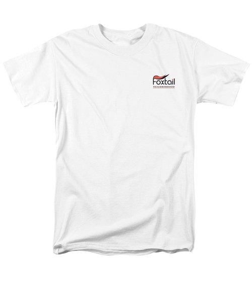 Foxtail Logo Men's T-Shirt  (Regular Fit)