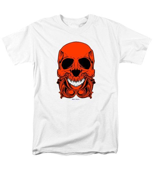 Red Skull  Men's T-Shirt  (Regular Fit) by Rafael Salazar