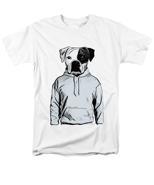 Men's T-Shirt  (Regular Fit) featuring the painting Cool Dog by Nicklas Gustafsson