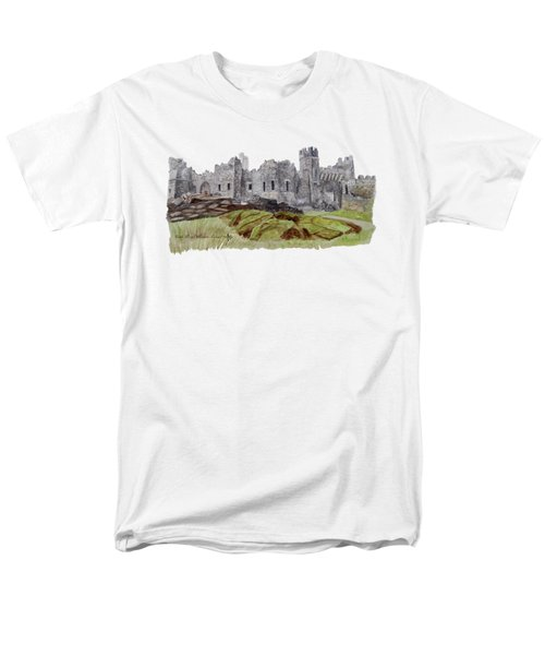 Castle Ward Men's T-Shirt  (Regular Fit) by Angeles M Pomata