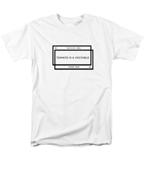 Tomato Is A Vegtable Men's T-Shirt  (Regular Fit)