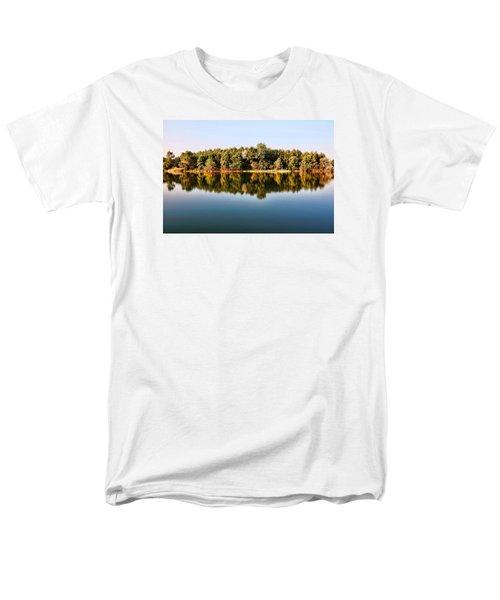 When Nature Reflects Men's T-Shirt  (Regular Fit) by Bill Kesler
