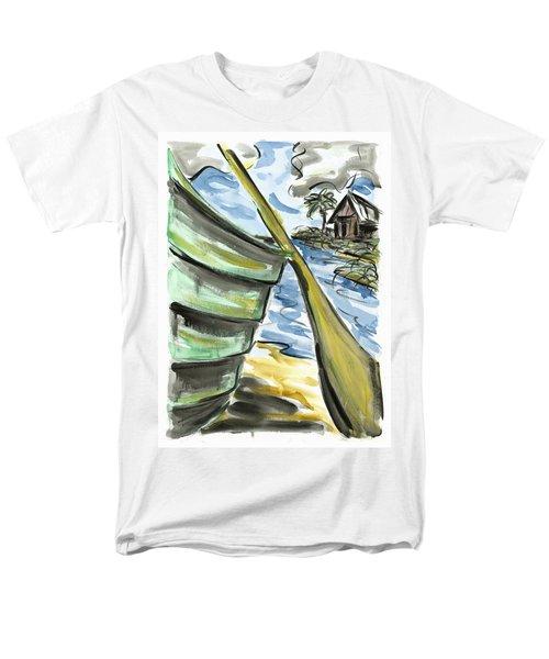 Men's T-Shirt  (Regular Fit) featuring the painting Ashore by Robert Joyner