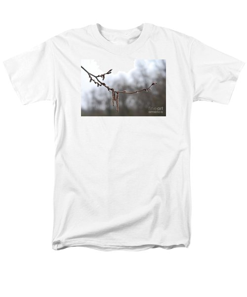 Men's T-Shirt  (Regular Fit) featuring the photograph Aspen Catkins 20120316_15a by Tina Hopkins