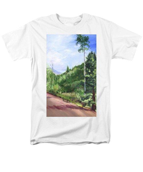 Aspen Heaven Men's T-Shirt  (Regular Fit) by Jane Autry
