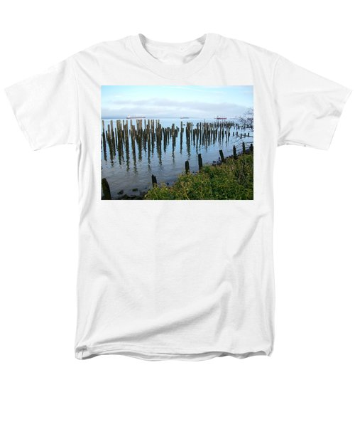 Astoria Ships  Men's T-Shirt  (Regular Fit) by Quin Sweetman