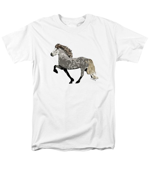 Men's T-Shirt  (Regular Fit) featuring the painting Astrid by Shari Nees