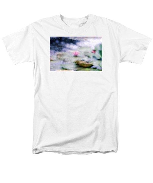 Men's T-Shirt  (Regular Fit) featuring the photograph At Claude Monet's Water Garden 12 by Dubi Roman