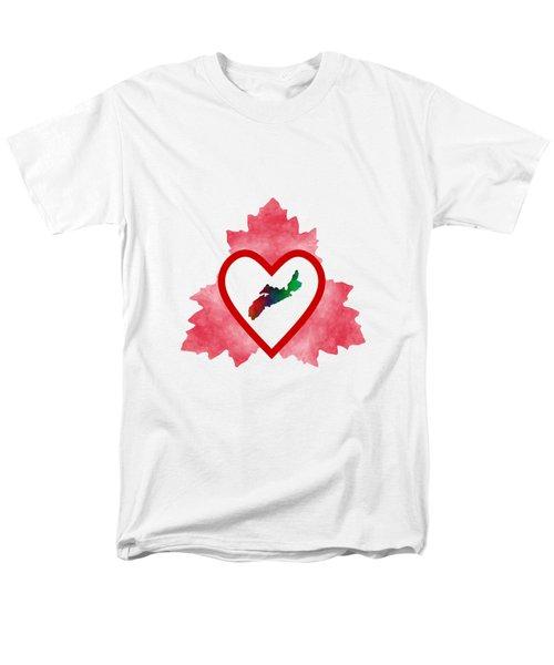 Atlantic Canada Men's T-Shirt  (Regular Fit) by Kathleen Sartoris