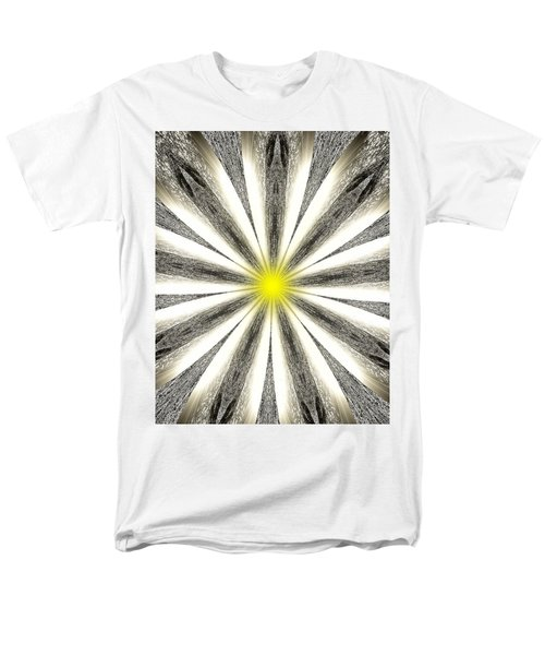 Atomic Lotus No. 4 Men's T-Shirt  (Regular Fit) by Bob Wall