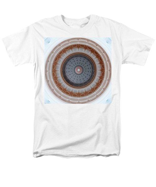 Austin Dome In Gray/brown Men's T-Shirt  (Regular Fit) by Karen J Shine
