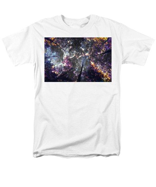 Autumn Abstract Men's T-Shirt  (Regular Fit) by David Stasiak