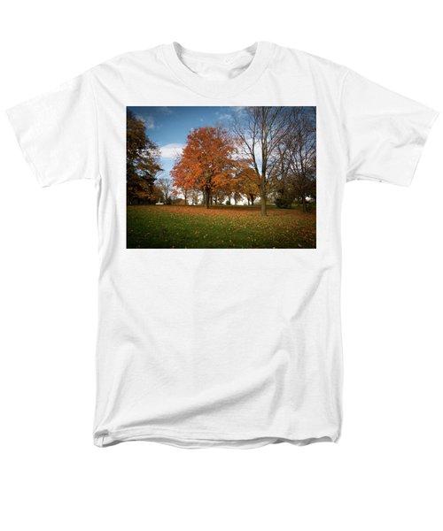 Autumn Bliss Men's T-Shirt  (Regular Fit) by Kimberly Mackowski