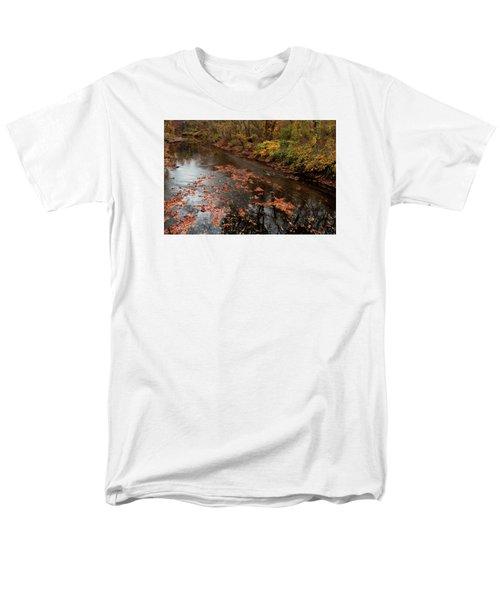 Men's T-Shirt  (Regular Fit) featuring the photograph Autumn Carpet 003 by Dorin Adrian Berbier