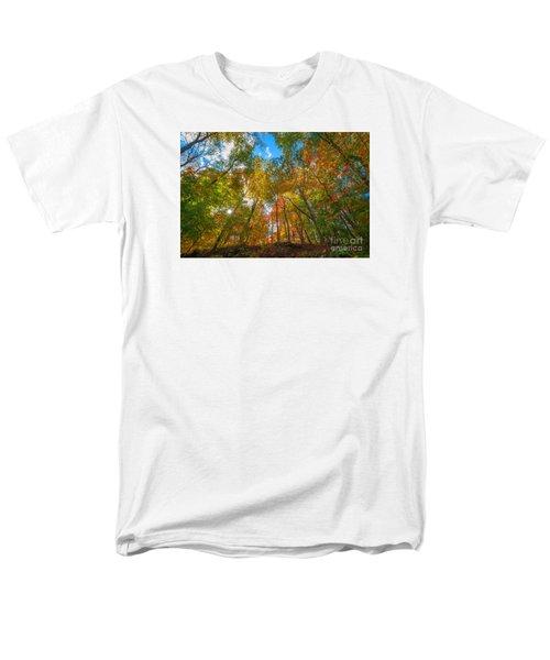 Autumn Colors  Men's T-Shirt  (Regular Fit) by Michael Ver Sprill