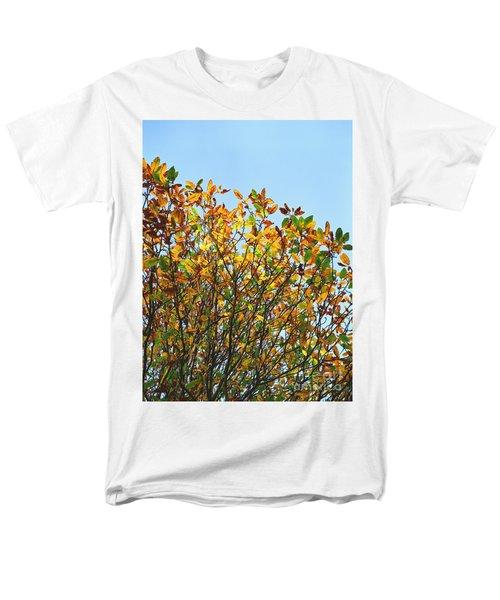 Autumn Flames - Original Men's T-Shirt  (Regular Fit) by Rebecca Harman