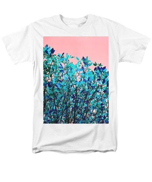 Autumn Flames - Peach Men's T-Shirt  (Regular Fit) by Rebecca Harman