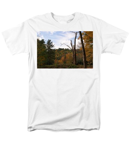 Men's T-Shirt  (Regular Fit) featuring the photograph Autumn In The Hills by Lois Lepisto
