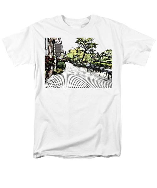 Autumn Patio Men's T-Shirt  (Regular Fit)