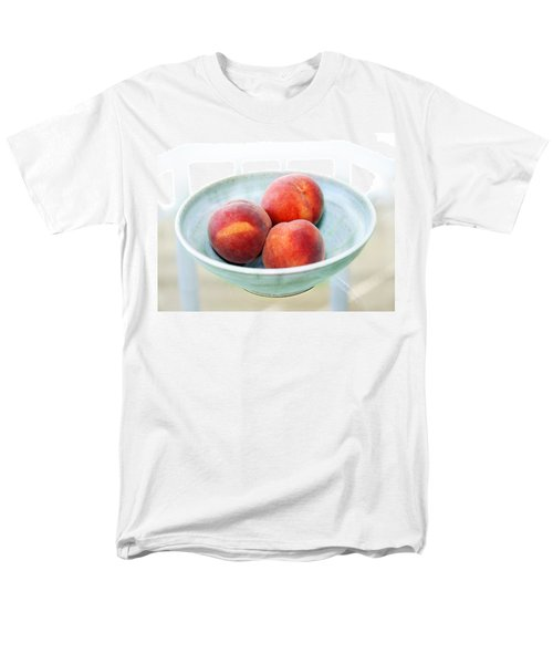 Autumn Peaches Men's T-Shirt  (Regular Fit) by Marilyn Hunt