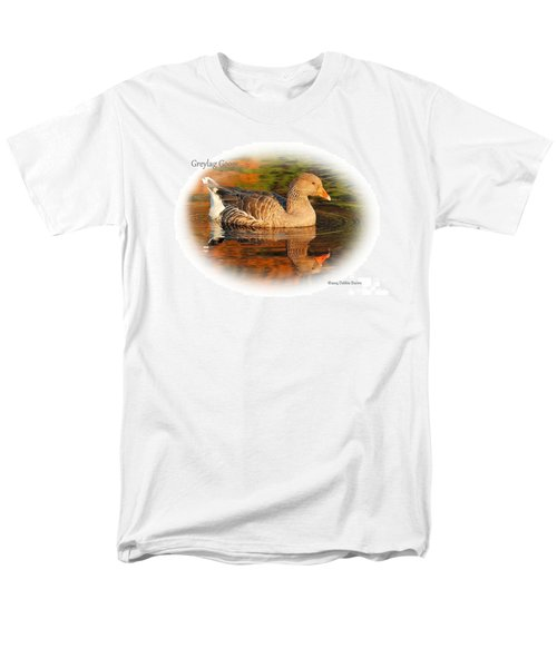 Men's T-Shirt  (Regular Fit) featuring the photograph Autumn Reflection by Debbie Stahre