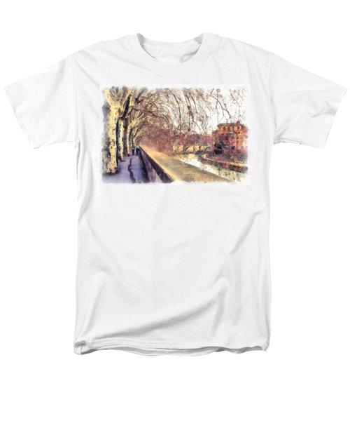 Autumn Men's T-Shirt  (Regular Fit) by Sergey Simanovsky