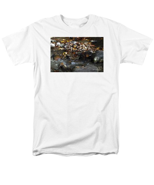 Men's T-Shirt  (Regular Fit) featuring the drawing Autumn Soup by Diane E Berry