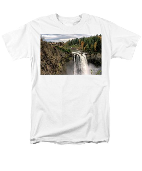 Autumnal Falls Men's T-Shirt  (Regular Fit) by Chris Anderson