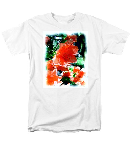 Men's T-Shirt  (Regular Fit) featuring the painting Azaleas In The Spring by Patricia Griffin Brett