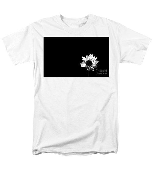 Men's T-Shirt  (Regular Fit) featuring the photograph B/w Flower  by Juls Adams