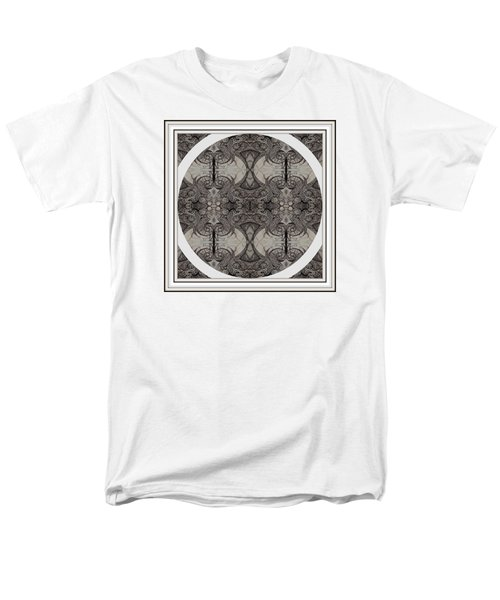 Balance Expressed In Black And White Men's T-Shirt  (Regular Fit) by Jack Dillhunt