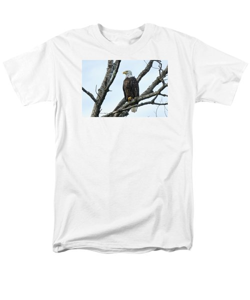 Men's T-Shirt  (Regular Fit) featuring the photograph Bald Eagle 5 by Steven Clipperton