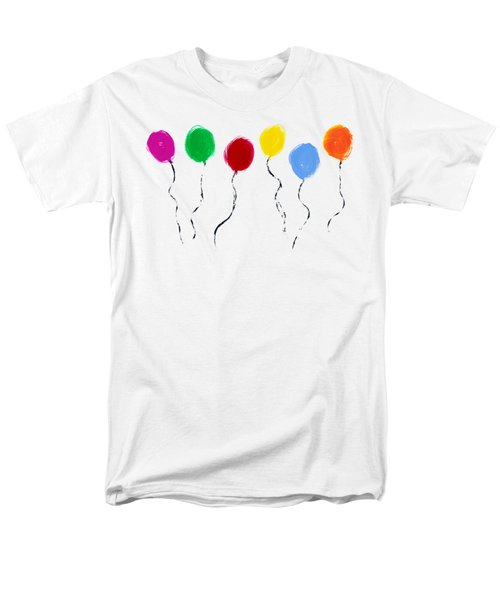 Men's T-Shirt  (Regular Fit) featuring the painting Balloons  by Tim Gainey