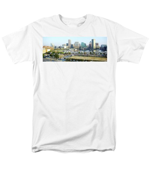 Men's T-Shirt  (Regular Fit) featuring the photograph Baltimore's Inner Harbor by Brian Wallace