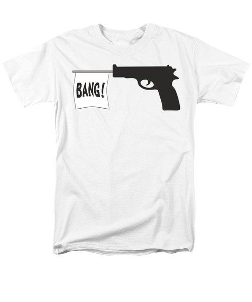 Bang Men's T-Shirt  (Regular Fit) by Ericamaxine Price
