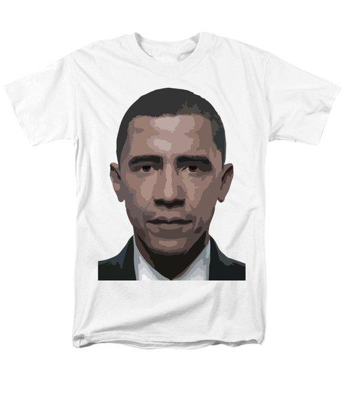 Barack Obama Men's T-Shirt  (Regular Fit) by Tshepo Ralehoko
