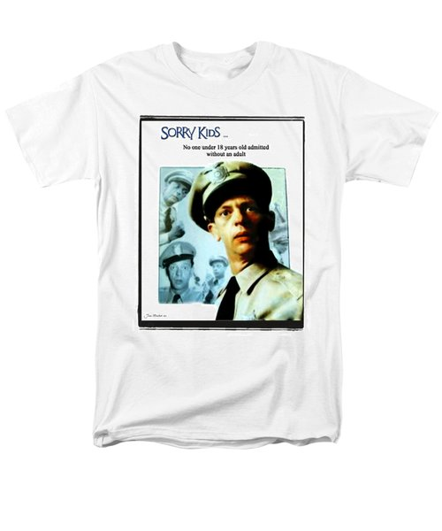 Barney Poster Men's T-Shirt  (Regular Fit) by Joan  Minchak