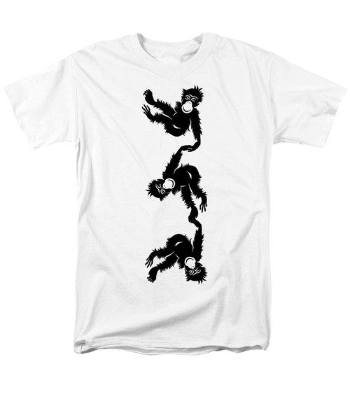 Barrel Full Of Monkeys T-shirt Men's T-Shirt  (Regular Fit) by Edward Fielding