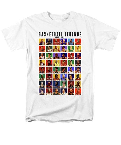 Basketball Legends Men's T-Shirt  (Regular Fit)