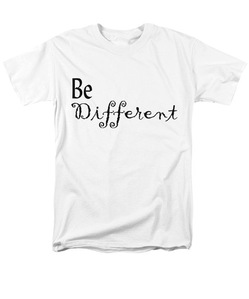 Be Different Men's T-Shirt  (Regular Fit) by Kerri Mortenson