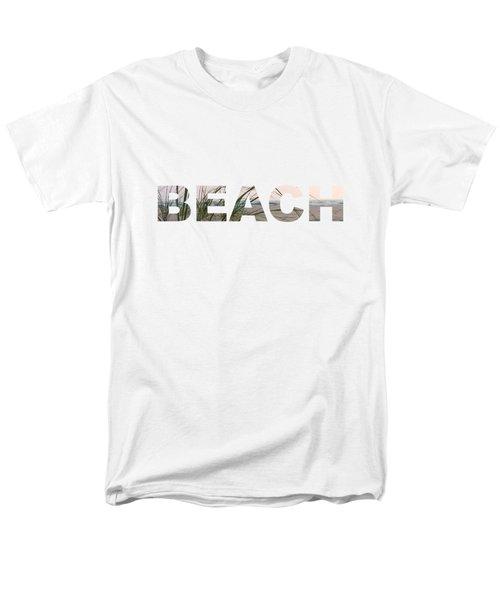 Beach Men's T-Shirt  (Regular Fit) by Laura Kinker