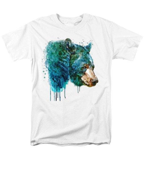 Bear Head Men's T-Shirt  (Regular Fit) by Marian Voicu