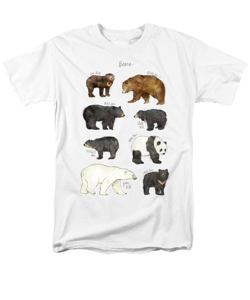 Bears Men's T-Shirt  (Regular Fit)