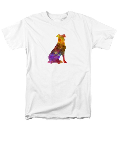 Beauceron In Watercolor Men's T-Shirt  (Regular Fit) by Pablo Romero