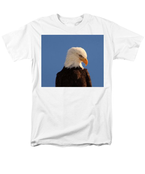 Men's T-Shirt  (Regular Fit) featuring the photograph Beautiful Eagle by Jeff Swan