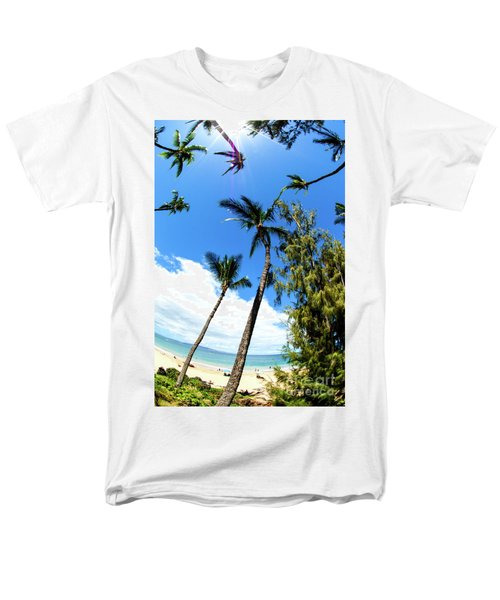 Men's T-Shirt  (Regular Fit) featuring the photograph Beautiful Palms Of Maui 17 by Micah May
