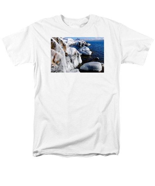 Beautiful Superior Ice Men's T-Shirt  (Regular Fit) by Sandra Updyke